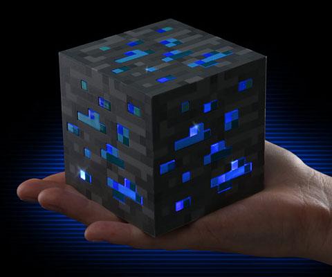 Minecraft Diamond Ore Block  INTERWEBS