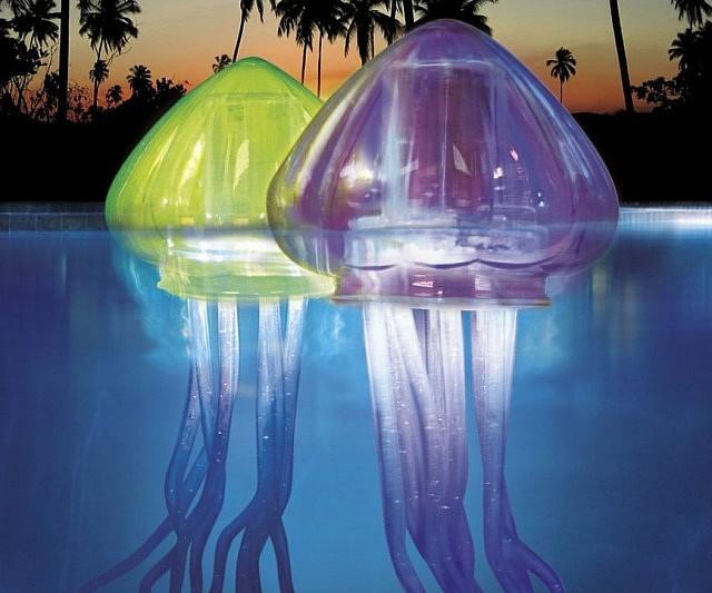 Jellyfish Pool Lights  INTERWEBS