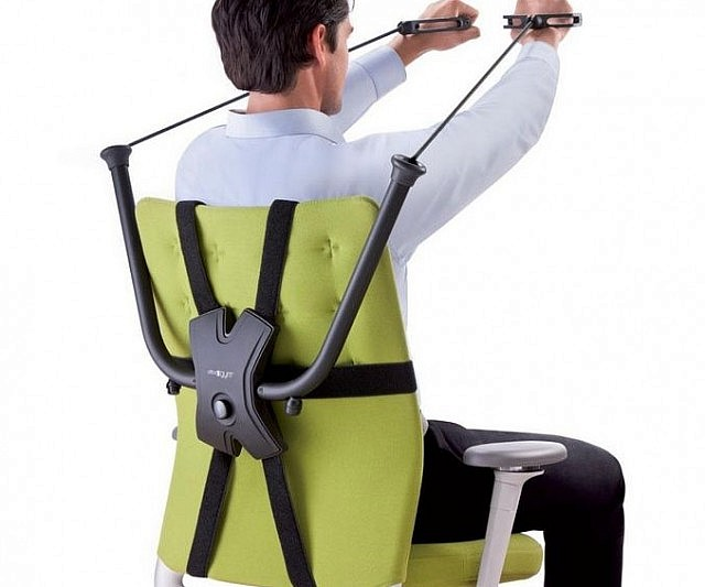 Office Chair Workout Device  INTERWEBS
