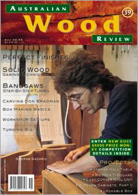 Australian Wood Review Back Issue 39