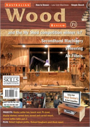 Australian Wood Review Back Issue 71