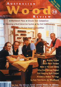 Australian Wood Review Back Issue 30