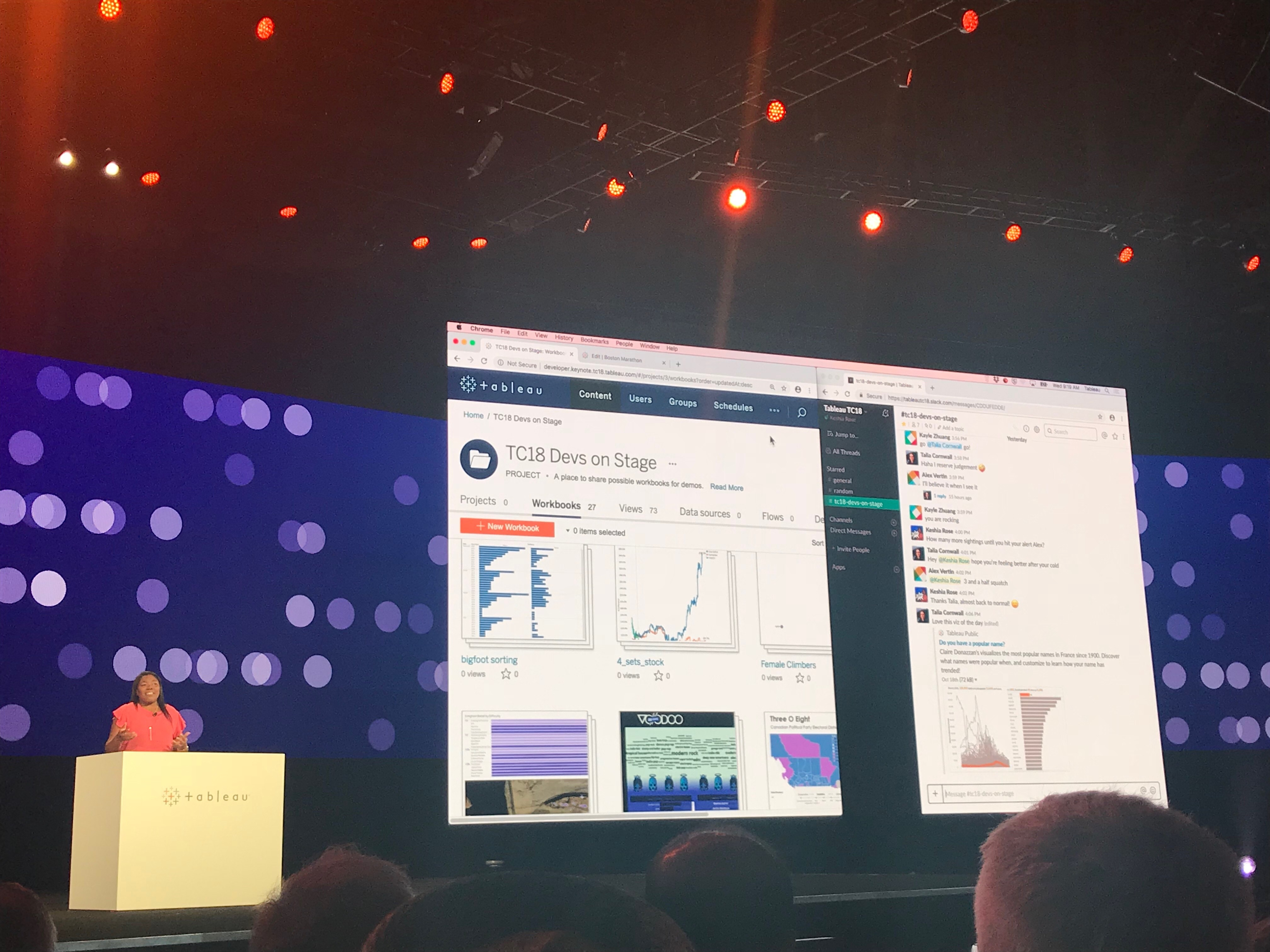 Class Notes From Tc18 Devs On Stage