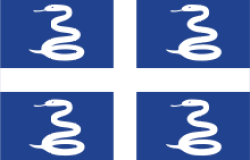 flag of Martinique, source of zouk