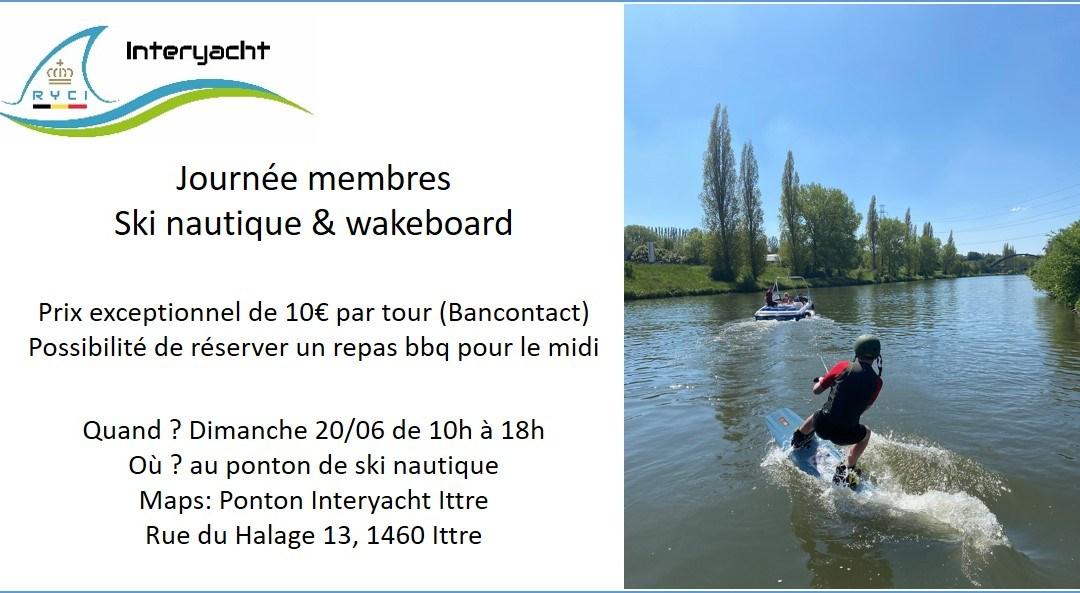 Journée Ski & Wakeboard 20/06/2021