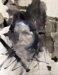 Imprint No 32, Mixed Media on Paper