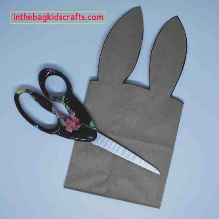 Bunny Gift Bag Step 2