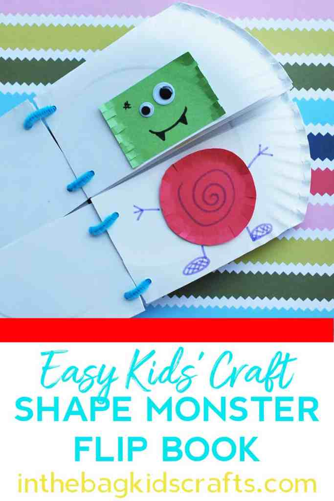 Shape Monster Flip Book