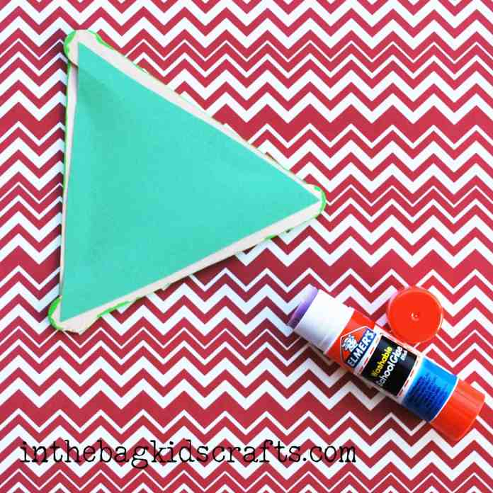 Easy Summertime Kids Craft Pear step 5