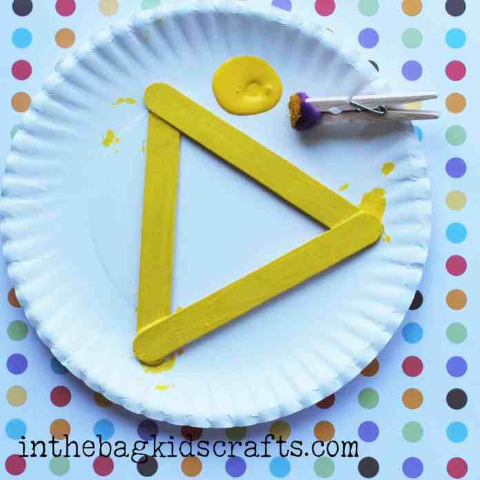 Summertime Kids Craft Pineapple step 3