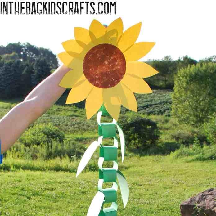 Sunflower kids craft