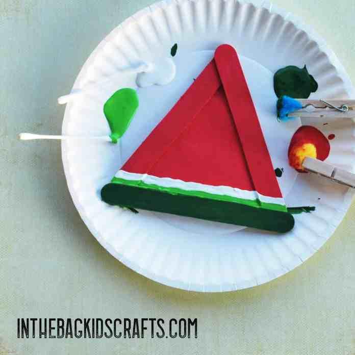 Watermelon Slice step 4
