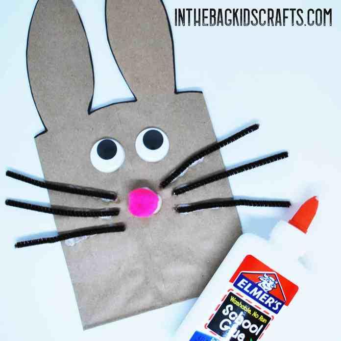 bunny gift bag step 3a