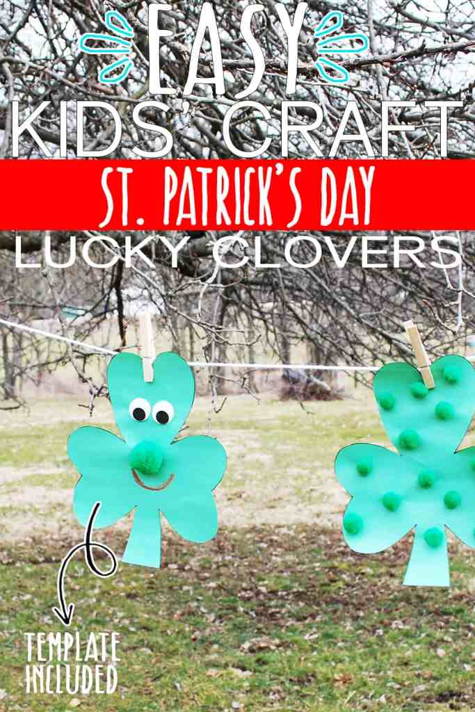 Saint Patrick's Day kids craft
