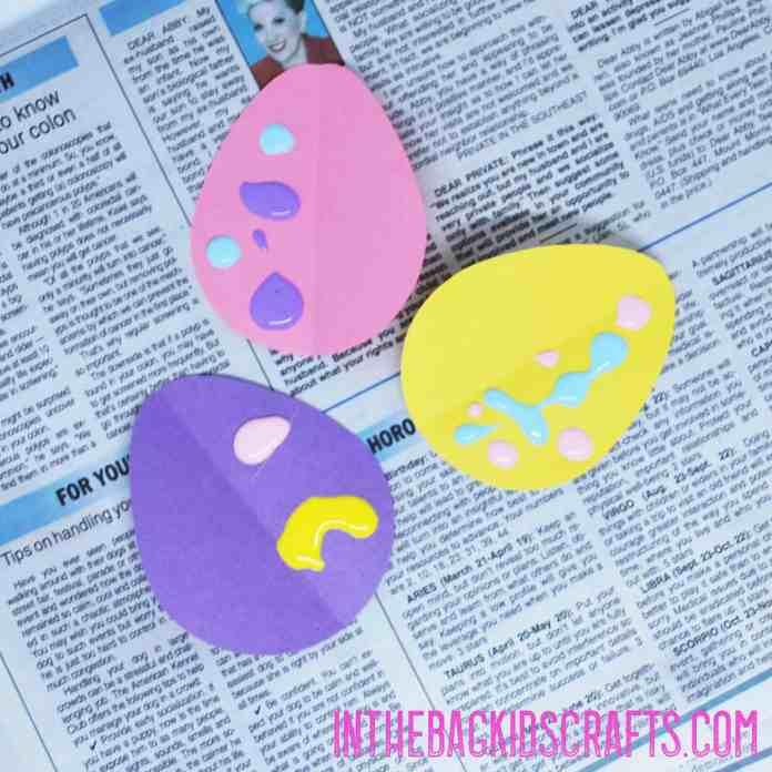 Make the Easter eggs