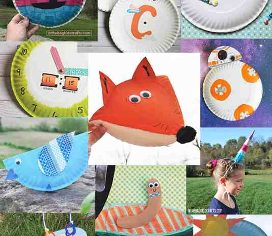 EASY PAPER PLATE CRAFTS