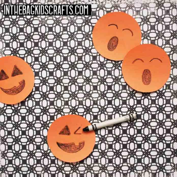 pumpkin memory game step 3