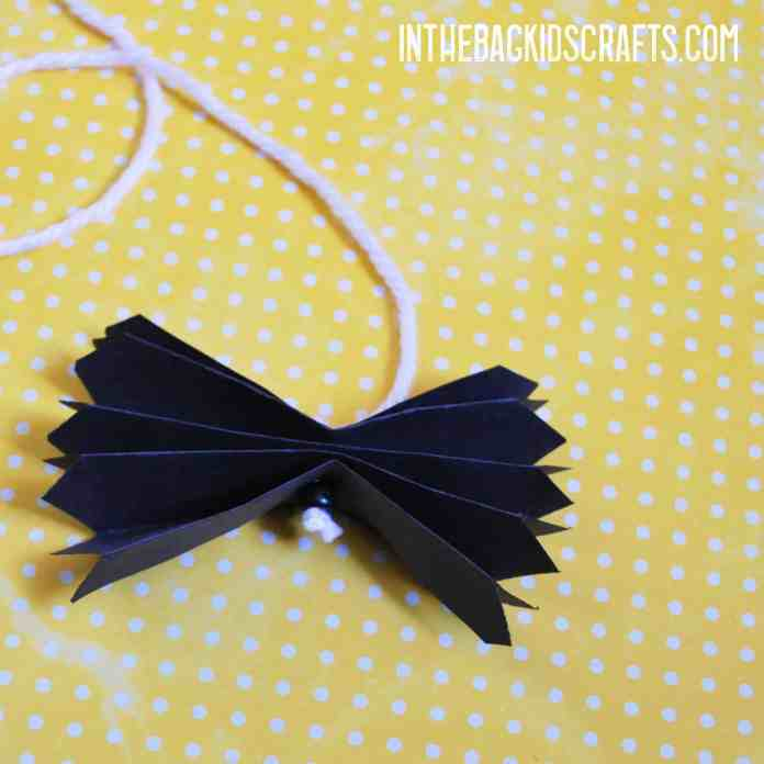 bat and moon kids' craft step 2