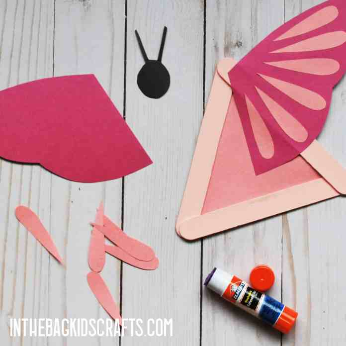 INSECT CRAFTS FOR KIDS BUTTERFLY