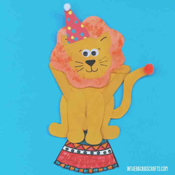EASY CIRCUS CRAFT FOR KIDS