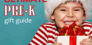 Preschool Christmas Gift Guide