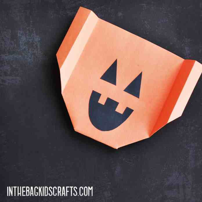 Halloween Kids' Activity:  Jack-o-Lantern Glider