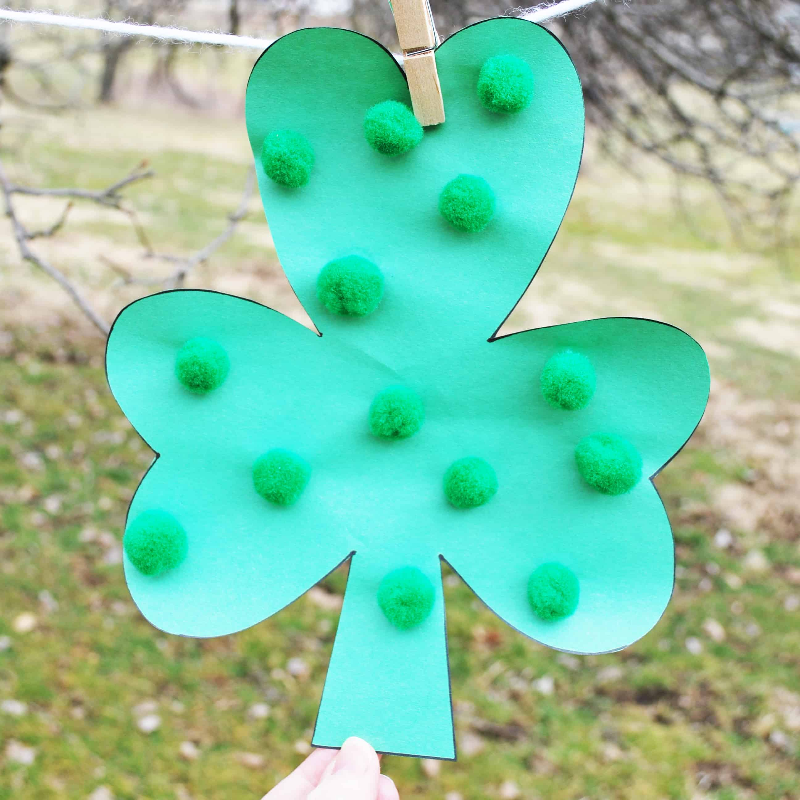 Decorated Lucky Clover