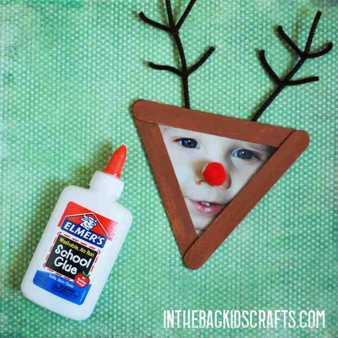 Glue on the red nose