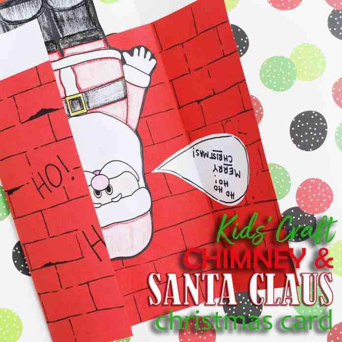 Santa Claus Christmas Card