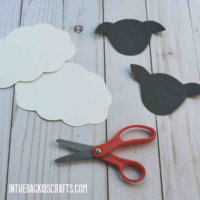 EASY SHEEP CRAFT FOR KIDS STEP 1
