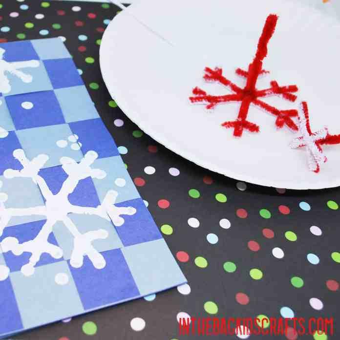 snowflake card step 4