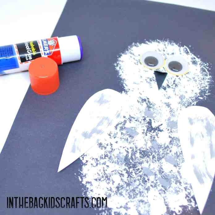 Owl Craft: Step 2