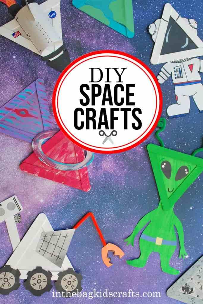DIY SPACE CRAFTS FOR KIDS