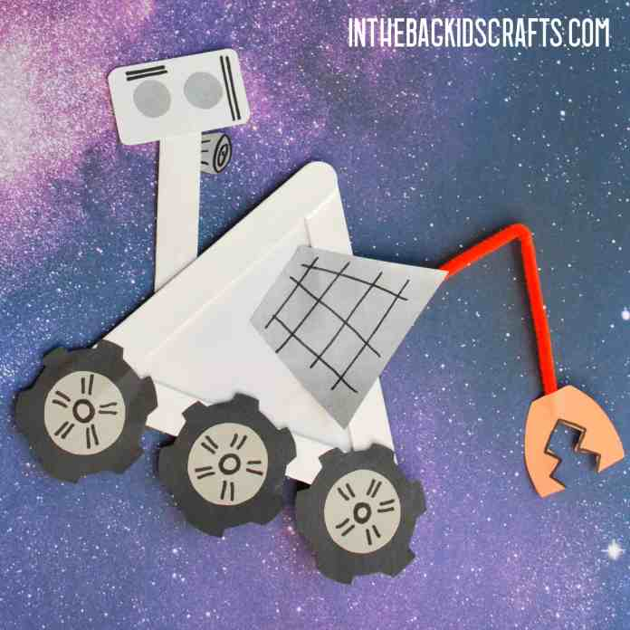 DIY SPACE CRAFTS FOR KIDS ROVER