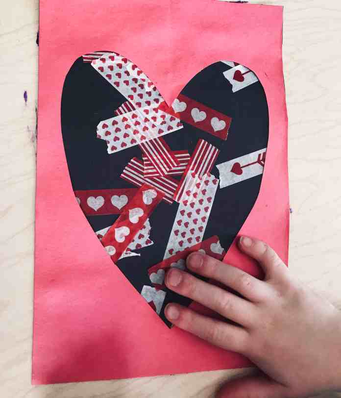 Heart Art for Toddlers