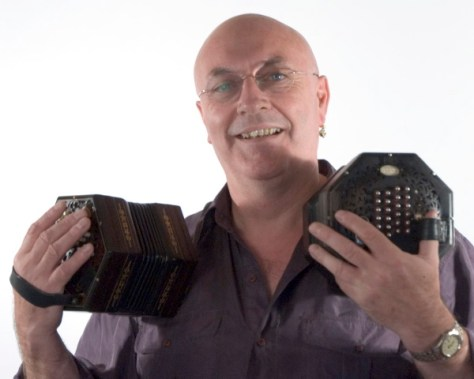 Keith Kendrick, singer of sea songs and concertina player