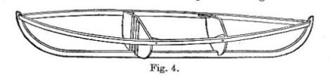 Canvas canoe
