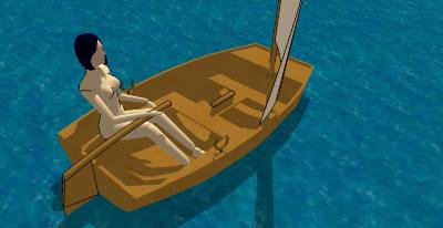 SketchUp models of some of my free boat designs – intheboatshed net