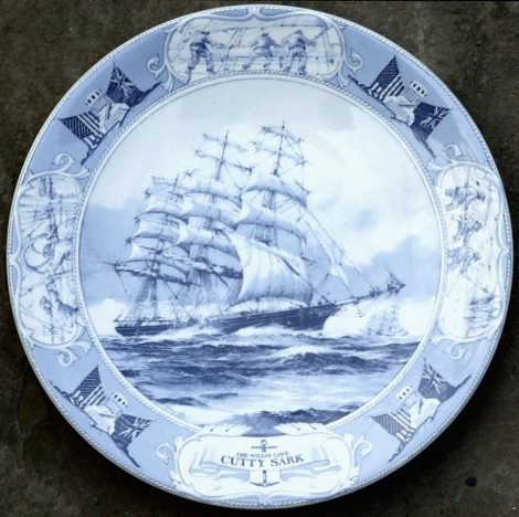 Decorative Wedgwood Cutty Sark plate