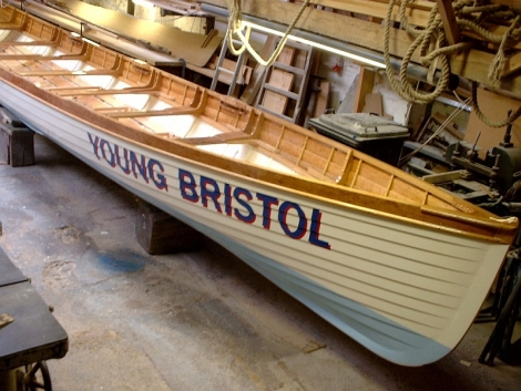 Rowing gig Young Bristol sees some action