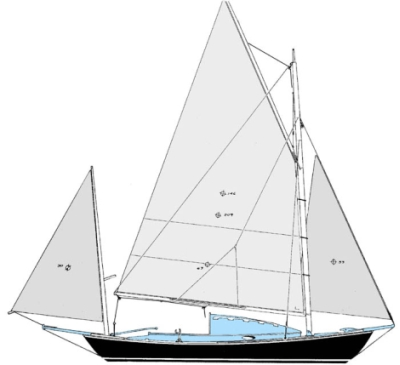 Bolger canoe yawl