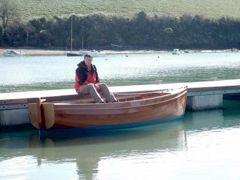 New 12ft Nick Smith runabout at Salcombe