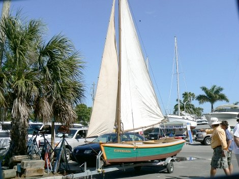 Fishing boat used by Cuban refugees restored