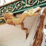 Napoleon\'s famous canot at the Musee de la Marine, Paris