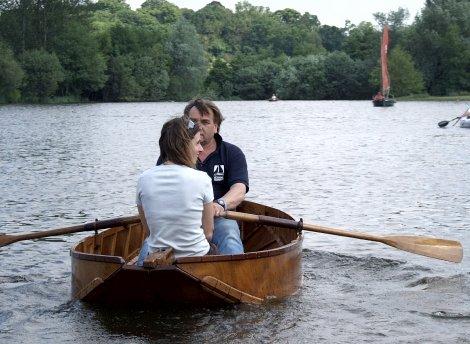 The Hudson folding boat floats