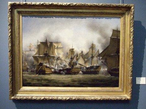 The Redoubtable at Trafalgar