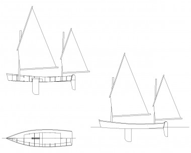 Julie skiff sailing version