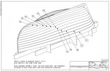 skiff model plans pic