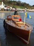 Lyme Regis Boat Building Academy launch Dec 5th 2009 070