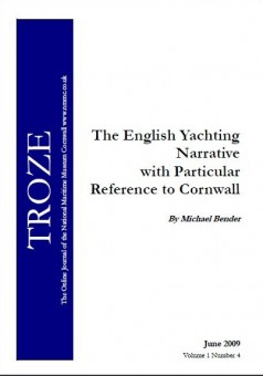 The English yachting narrative with particular reference to Cornwall